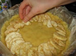 Яблочный тарт для диабетиков