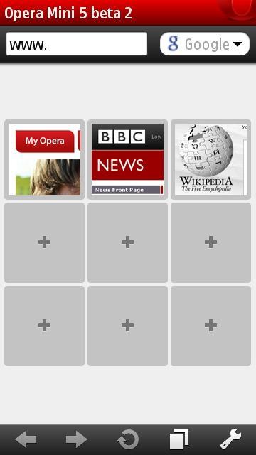 Opera Mobile включает вРазработчик Opera Software ASA Язык