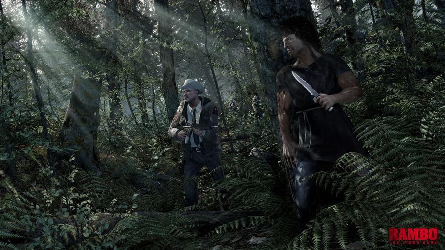 Screens Zimmer 9 angezeig: Rambo game ps3