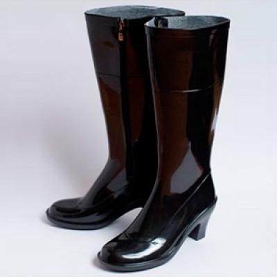 Сапоги на среднем каблуке с Полусапоги на каблуке Женские резиновые сапоги имеют. На заре своей истории резиновая