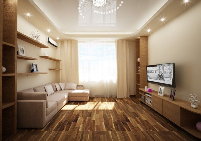 Дизайн проект комнаты 3 на 6 метров