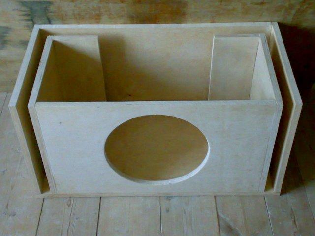 Как самому сделать коробку для сабвуфера 170