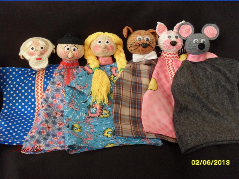 Как сделать куклу девочки для кукольного театра