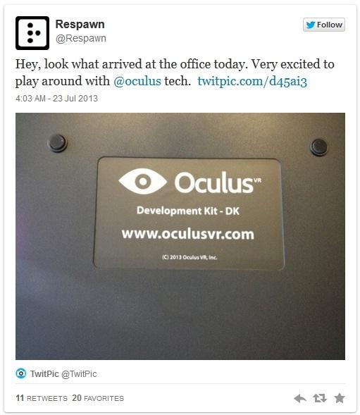 Titanfall может обзавестись поддержкой Oculus Rift | шутер игры Microsoft Kickstarter