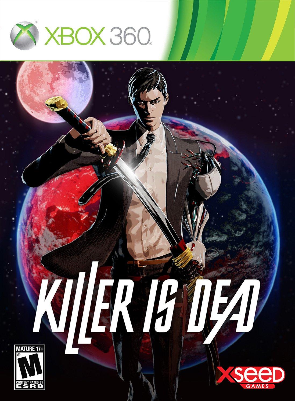 Killer is Dead   финальный бокс арт | игра