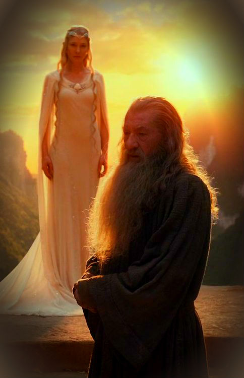 Did Galadriel And Gandalf Hook Up