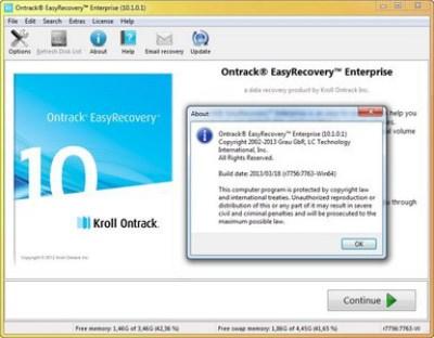 Ontrack EasyRecovery Enterprise.