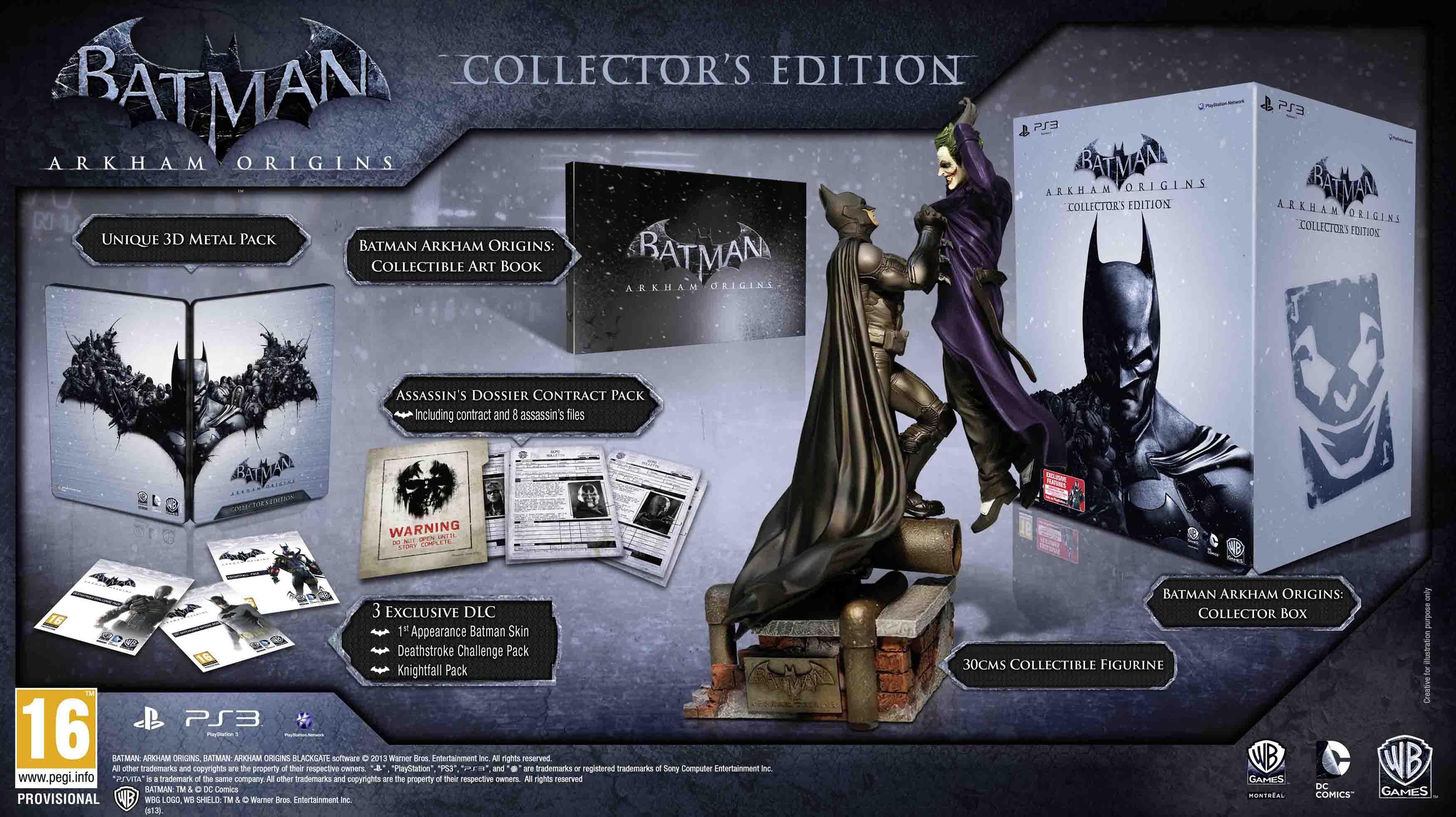 Коллекционное издание Batman: Arkham Origins | эксклюзив DLC