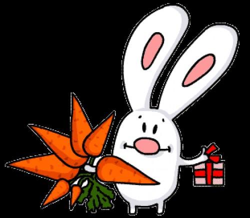 Поздравления с днем рождения с морковкой 45