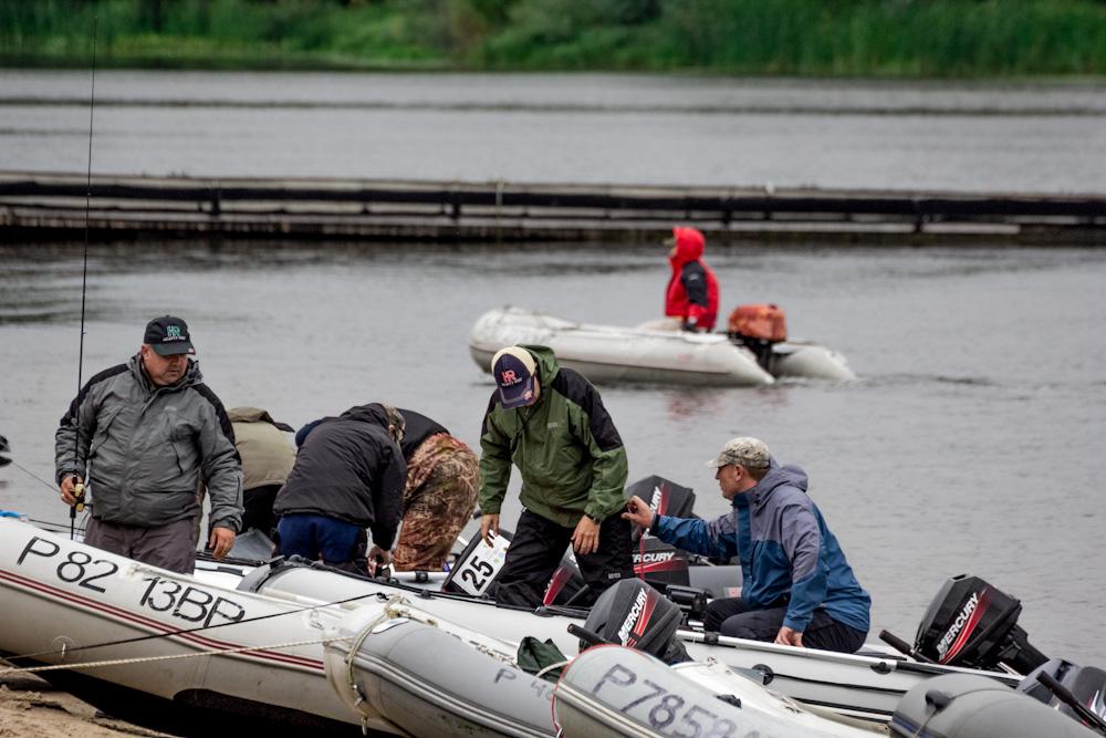 липецк ловля с лодки