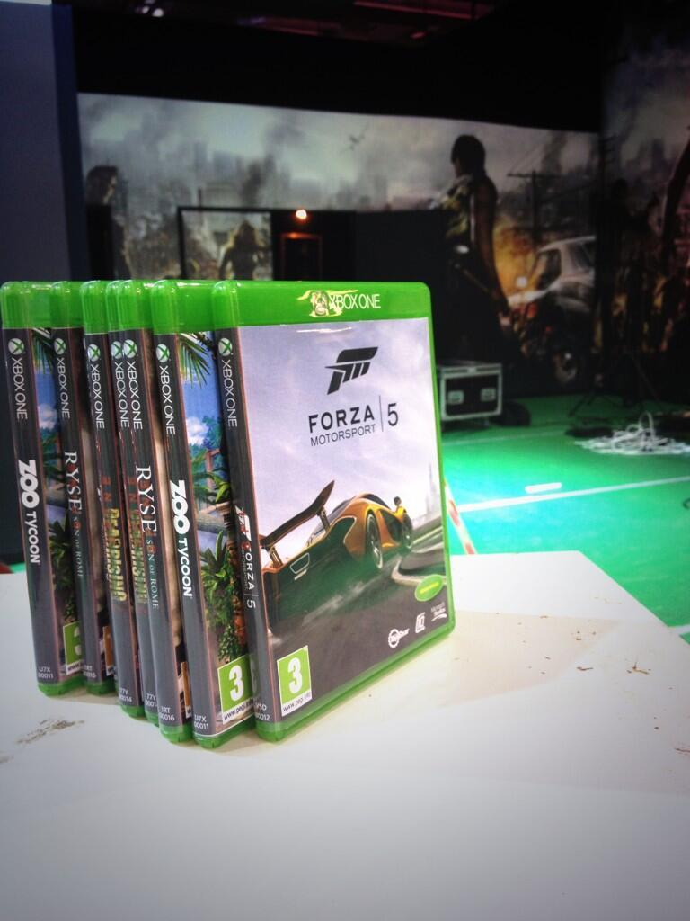 Первые официальные изображения дисков для Xbox One
