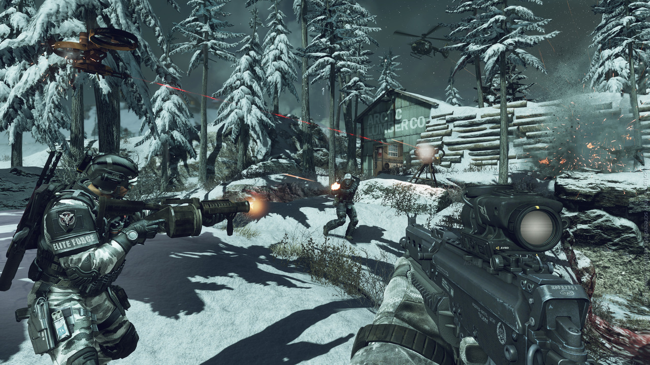 Call of Duty: Ghosts (2013) XBOX360