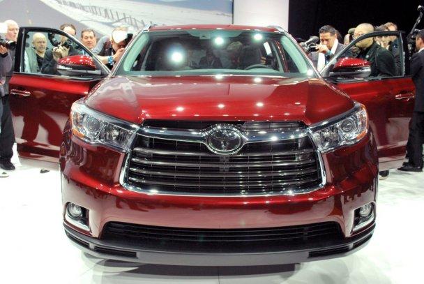 Премьера Toyota Highlander