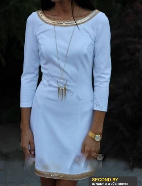 Как красиво обработать горловину платья 8