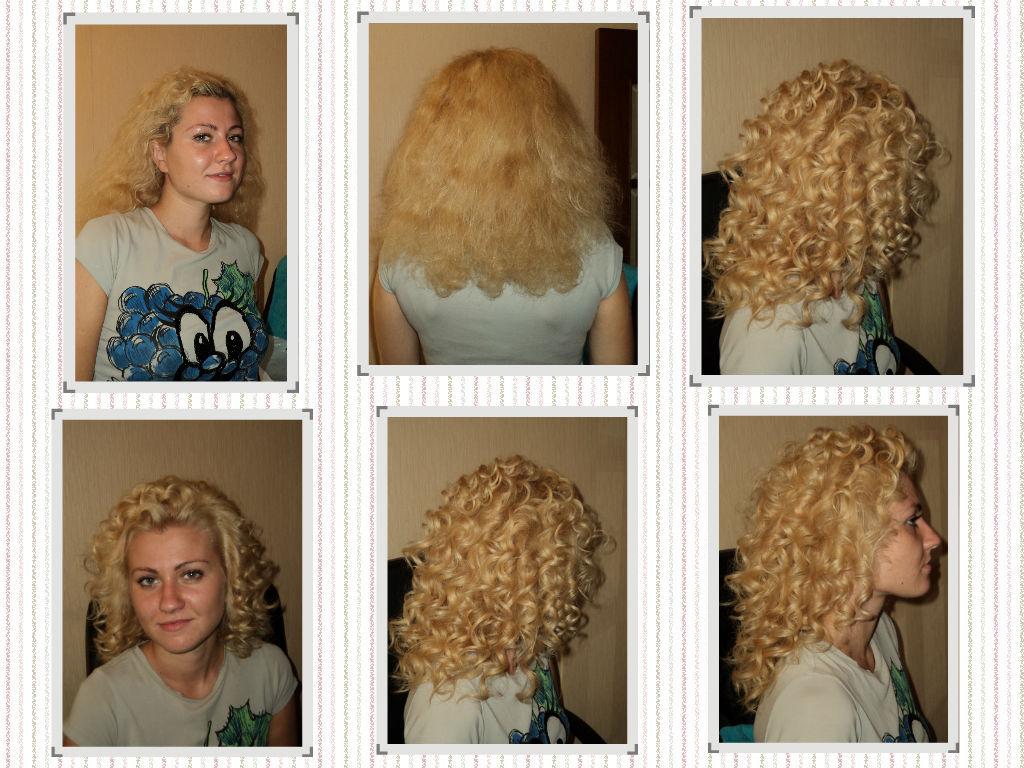 Как сделать хим завивку на волосы 270