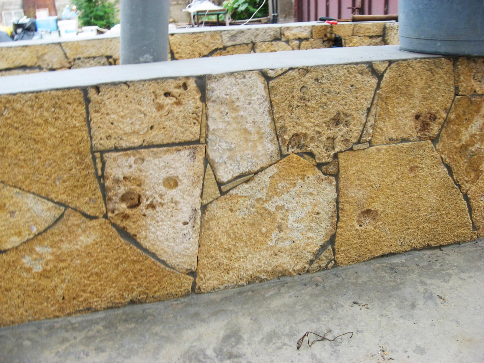 Кладка природного камня своими руками