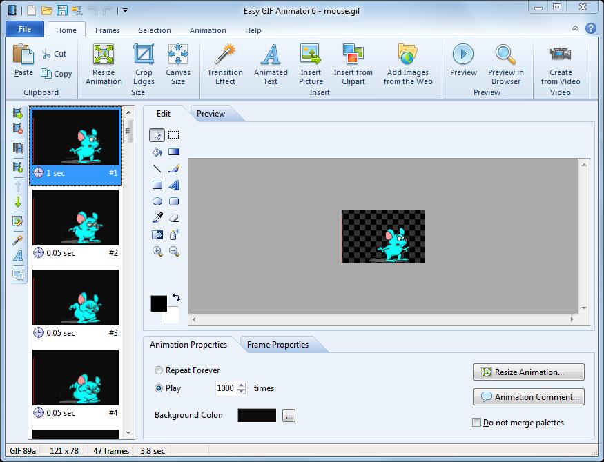 Blumentals Easy GIF Animator 6.1.0.52 Rus