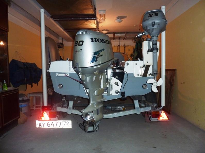 протекторный анод на лодочном моторе