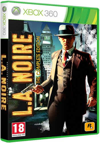 Xbox 360 L.A. ������ ��� ����� ������, ������ ���-��. Noire : The Complete Edition Region Free, ������ ��� �� �����,  RUS2011, ��� �������,  Action/Adventure/Racing