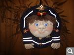 Кукла попик полицейский своими руками 21