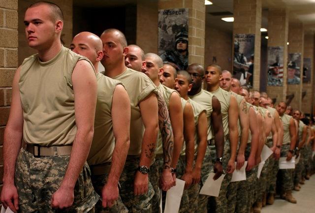 как служат в армии в сша